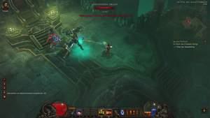 Diablo 3 - Komplettlösung : Der erste Boss: Der Verrückte König von Tristram, Skelettkönig Leoric.