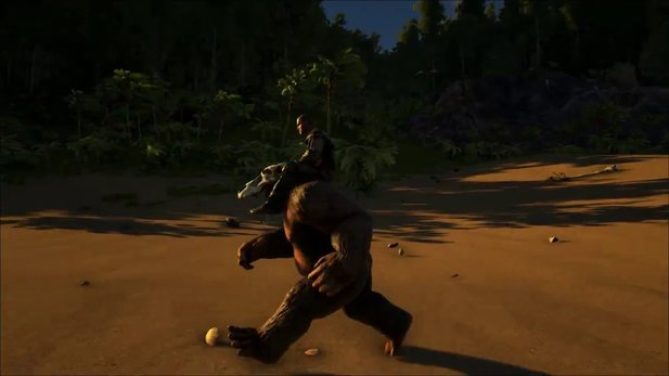 Ark: Survival Evolved - Vorstellungs-Trailer zum Gigantopithecus