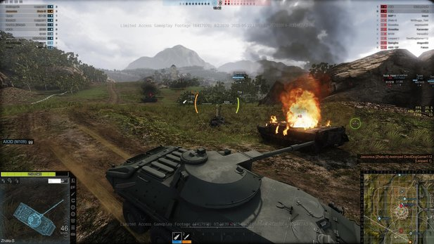 Obsidian Entertainment hat die erste Early-Access-Phase für Armored Warfare gestartet.