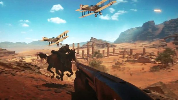 Battlefield 1 - Gamescom-Trailer zeigt Pferde und Beta-Map