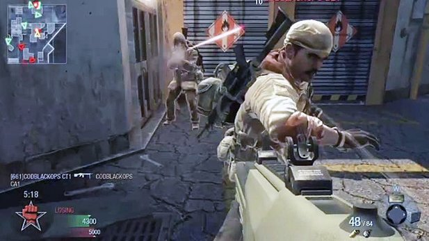 Black Ops Multiplayer-Gameplay