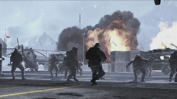 Erste Spielszenen aus Call of Duty: Modern Warfare 2 (Quelle: Gameplay-Trailer).