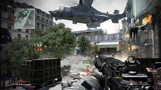 Multiplayer-Trailer von Modern Warfare 3