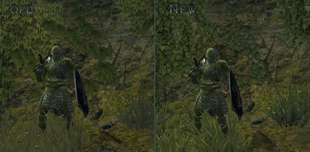 Dark Souls Flora Overhaul