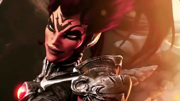 Darksiders 3 - Gameplay-Trailer: Peitsche, Lava-Höhle & Krieg in Ketten