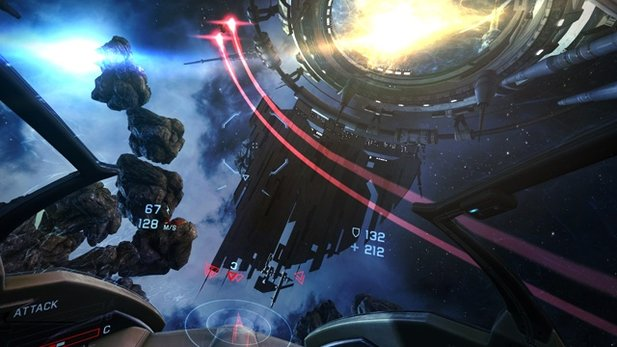 Gameplay-Trailer von EVE: Valkyrie
