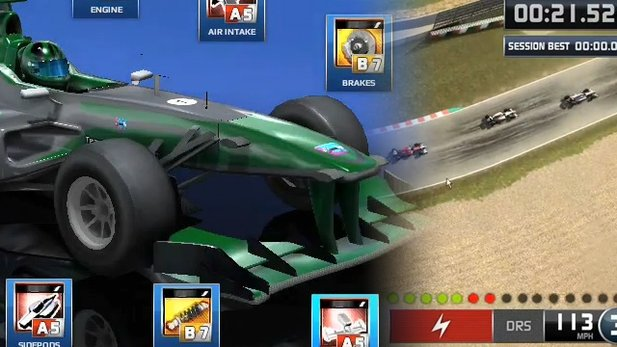 Gameplay-Video von F1 Online: The Game