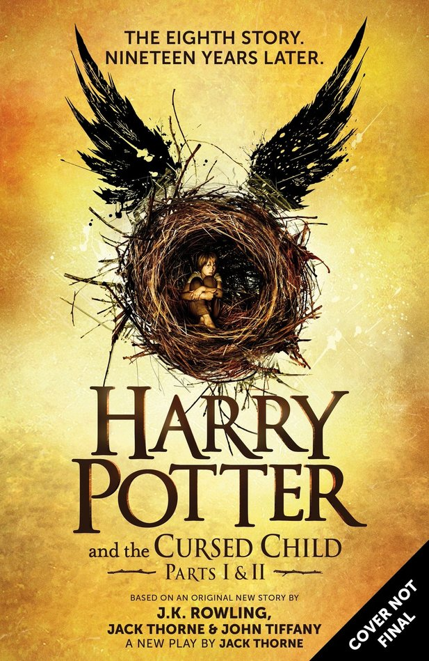 J.K. Rowlings Buch Harry Potter and the Cursed Child erscheint Ende Juli.