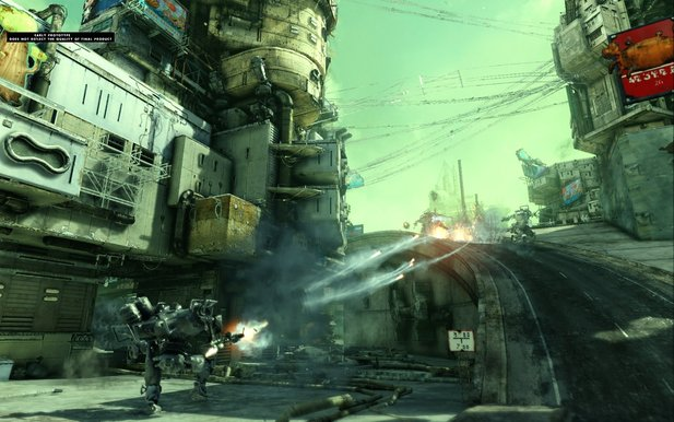 Screenshot aus Hawken
