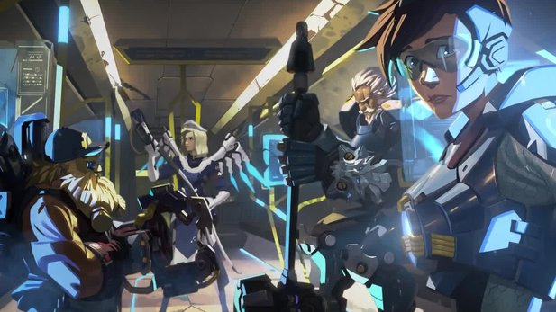 Overwatch Uprising - Render-Intro: Die Story von »King's Row Uprising«