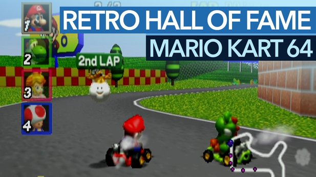 Retro Hall of Fame: Mario Kart 64 - Saus of Karts