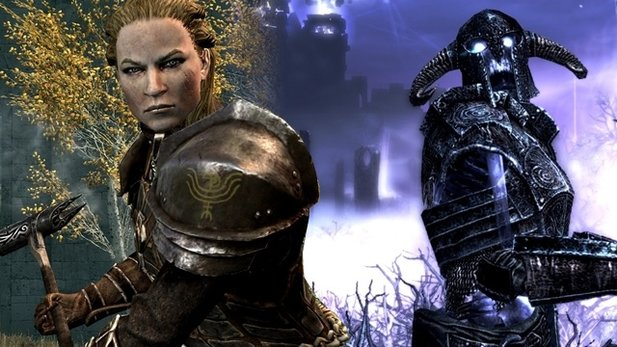 TES 5 Skyrim: Dawnguard - Test-Video
