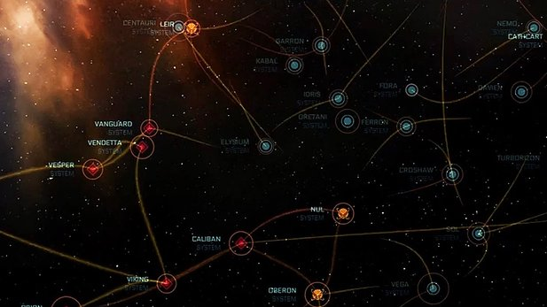 Star Citizen: ARK Star Map - Trailer zur Browser-Map des Universums