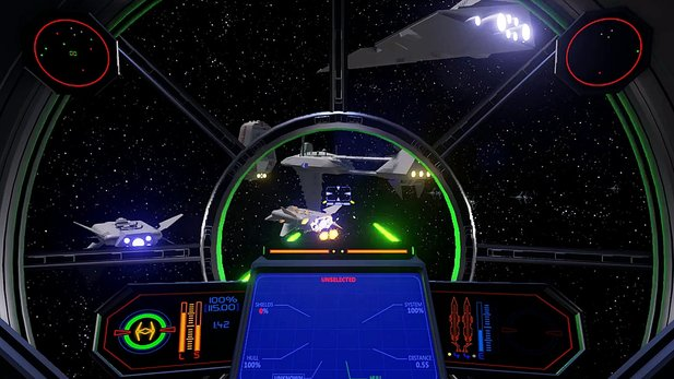 Star Force - Pre-Alpha-Gameplay aus dem X-Wing-Klon