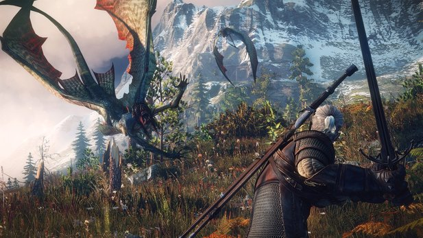In The Witcher 3: Wild Hunt legt ish Geralt auch mit Sirenen an.