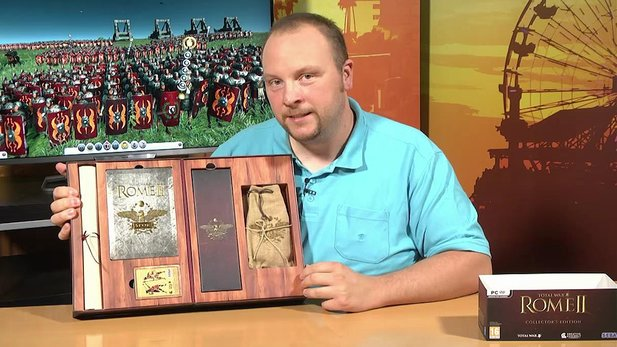 Total War: Rome 2 - Boxenstopp-Video zur Collector's Edition
