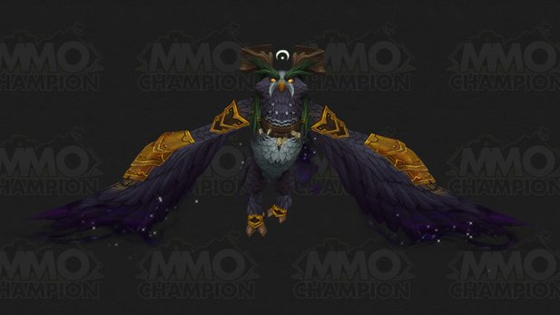 World of Warcraft: Legion - Das neue Mount des Druiden. Bild: MMO-Champion