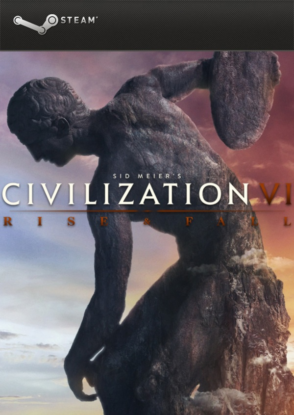 Cover zu Civilization 6: Rise and Fall