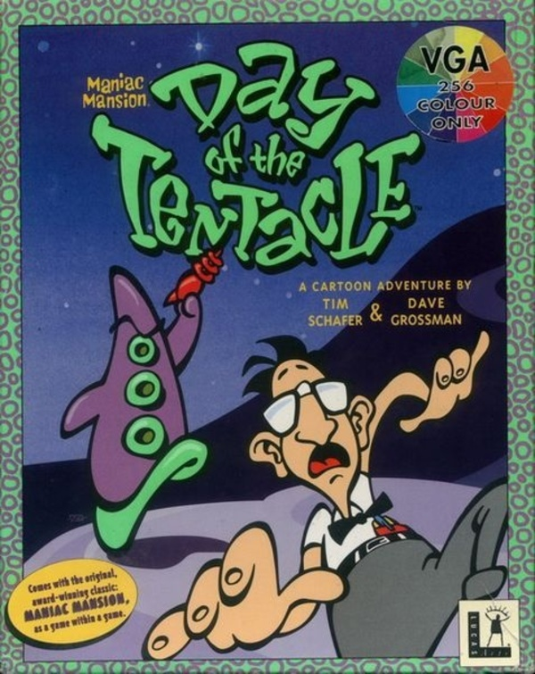 Cover zu Day of the Tentacle