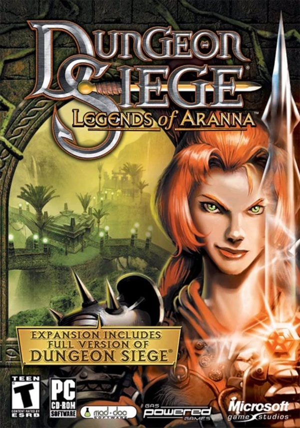 Cover zu Dungeon Siege: Legends of Aranna