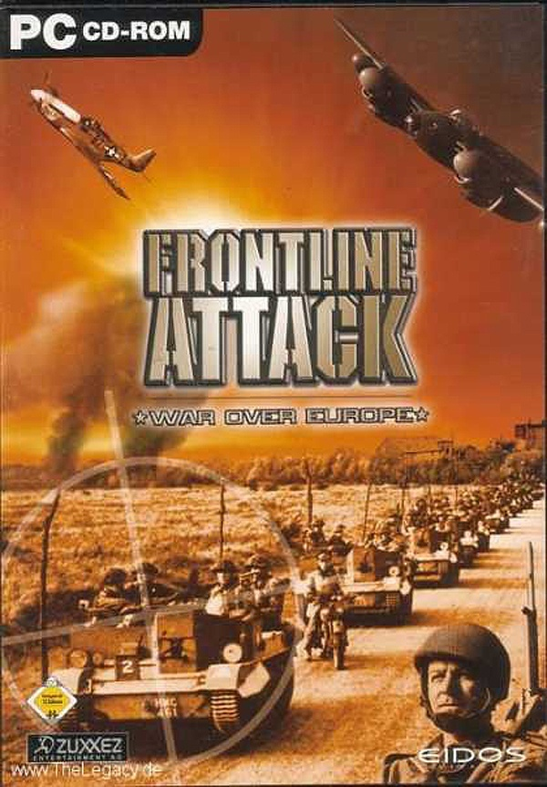 Cover zu Frontline Attack: War Over Europe