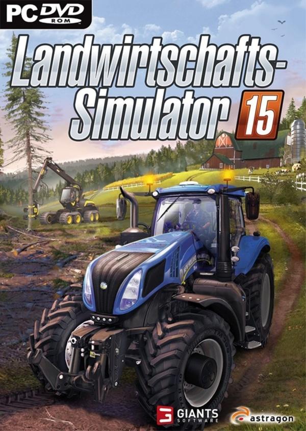 landwirtschafts simulator 15 pc spiele cover gamestar. Black Bedroom Furniture Sets. Home Design Ideas