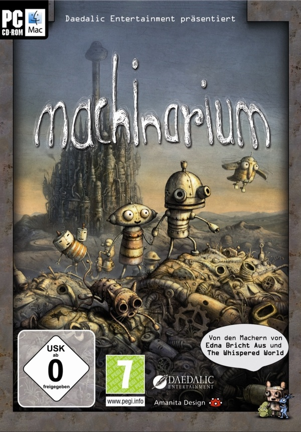 Cover zu Machinarium