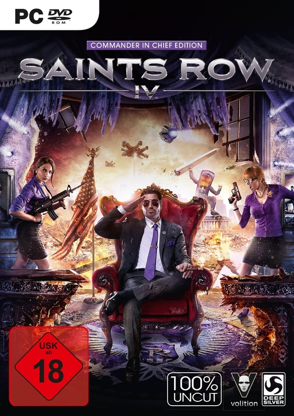 Cover zu Saints Row 4
