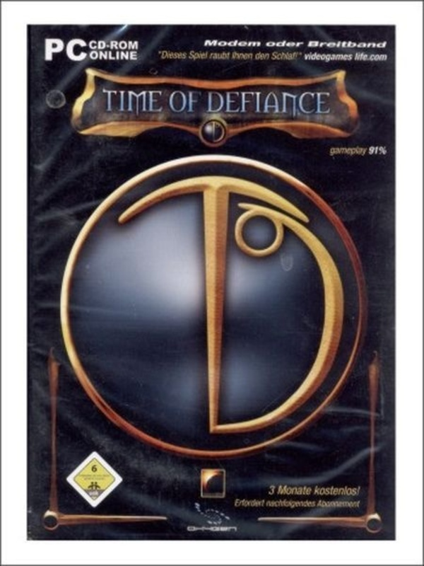 Cover zu Time of Defiance