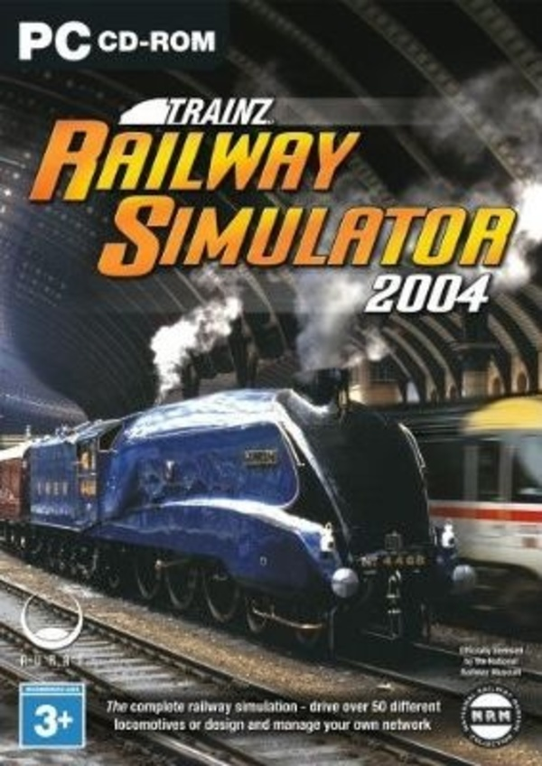 Cover zu Trainz Railroad Simulator 2004