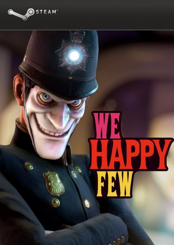 Cover zu We Happy Few
