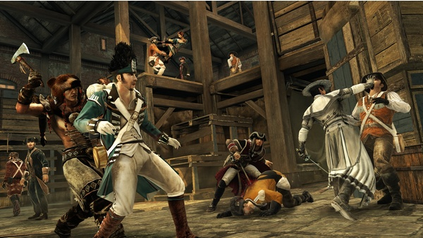 Screenshot zu Assassin's Creed 3 - Bilder aus dem Multiplayer-Modus
