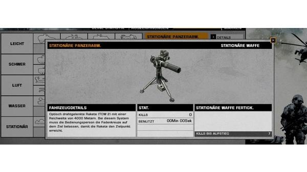 Screenshot zu Battlefield: Bad Company 2 - Die Fahrzeuge im Bild