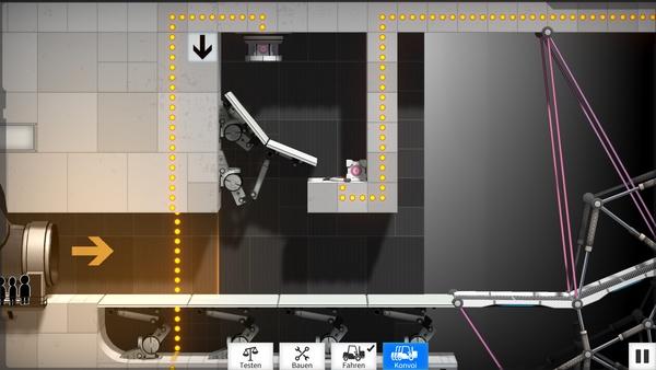 Screenshot zu Bridge Constructor Portal - Screenshots