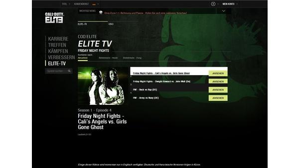 Screenshot zu Call of Duty Elite - Screenshots
