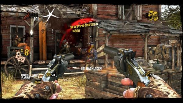 Screenshot zu Call of Juarez: Gunslinger - Screenshots aus der PC-Version