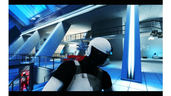 Screenshot zu Mirror's Edge - Nahkampf