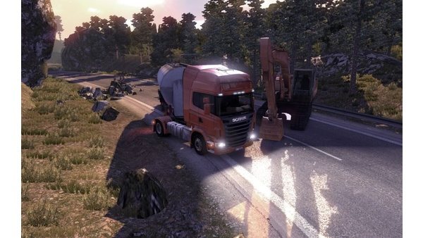 Screenshot zu Scania Truck Driving Simulator - Screenshots