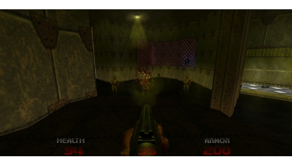 Screenshot zu Brutal Doom 64 - Screenshots der Mod-Portierung