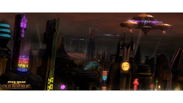 Screenshot zu Star Wars: The Old Republic - Artworks und Konzeptzeichnungen