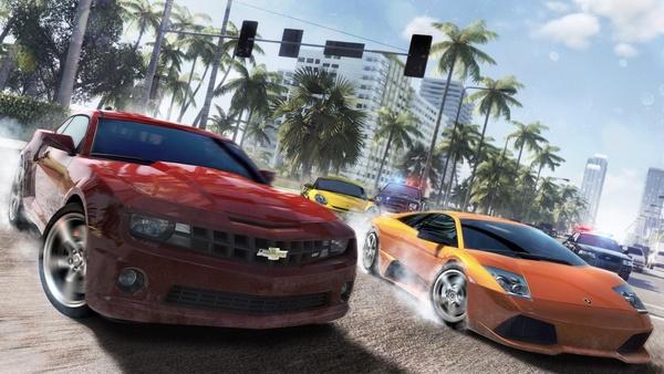 Screenshot zu Open World Rennspiele - Galerie: Autos auf offener Piste