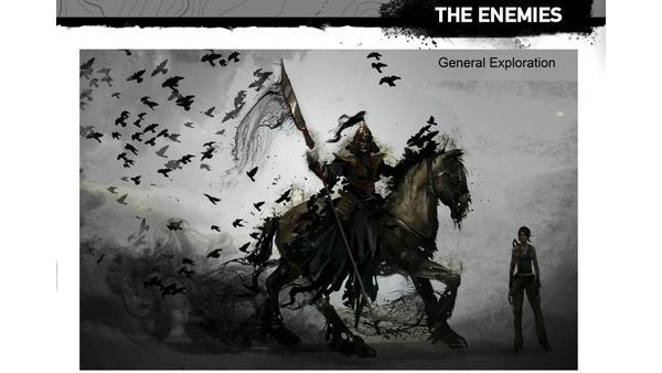 Screenshot zu Tomb Raider - Artworks und Konzeptzeichnungen