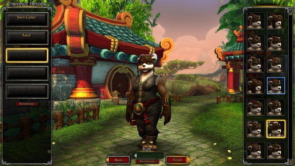 Screenshot zu WoW: Mists of Pandaria - Screenshots aus dem Charakter-Editor (Beta)