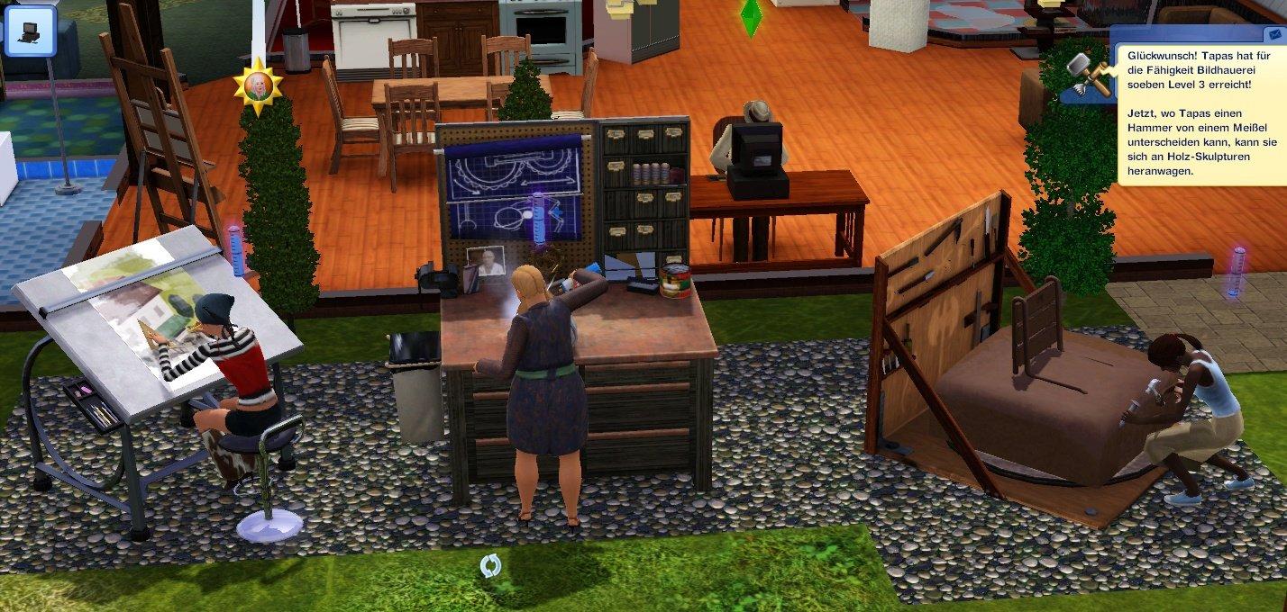 seite 2 die sims 3 traumkarrieren im test mit dem addon zur arbeit gamestar. Black Bedroom Furniture Sets. Home Design Ideas