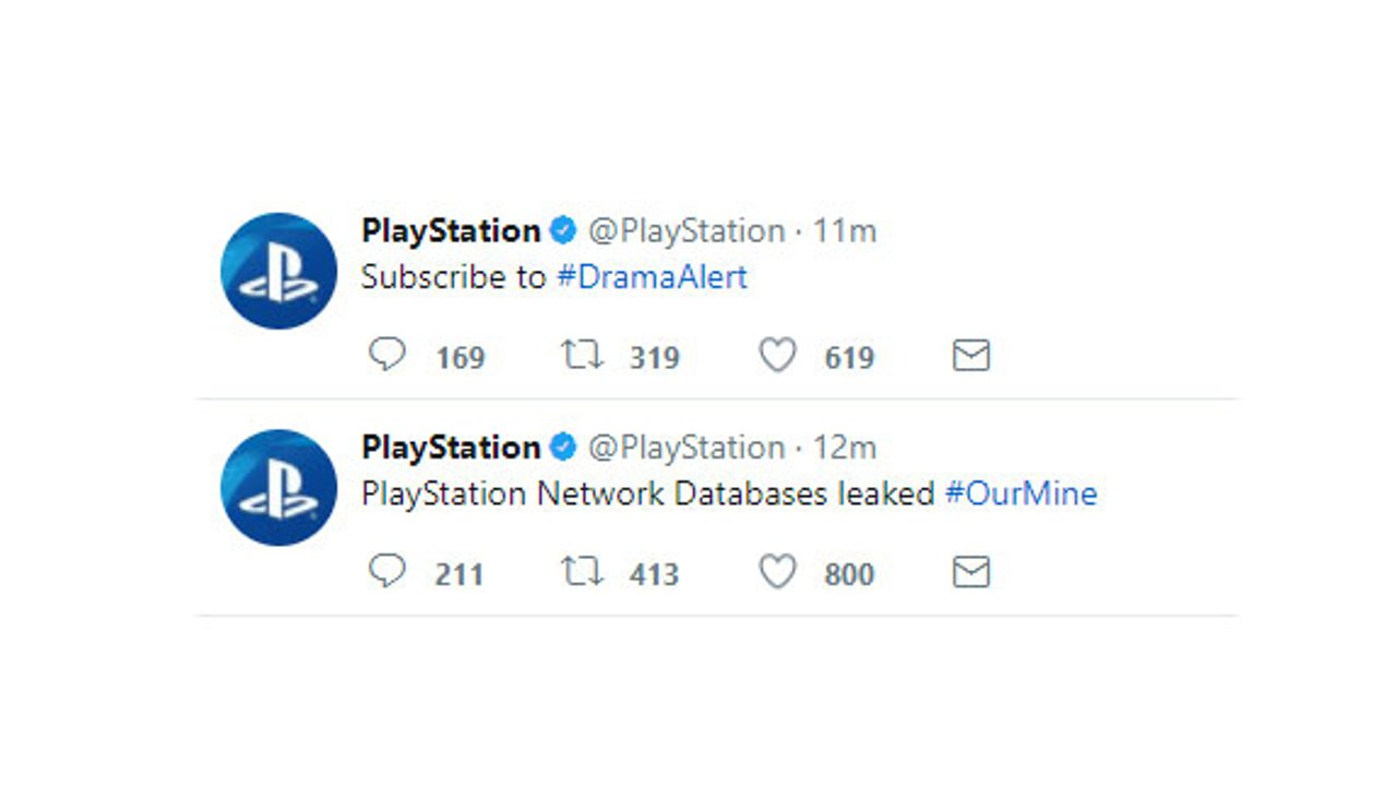 PlayStation 4: Social Media-Accounts offenbar in den Händen von Hackern
