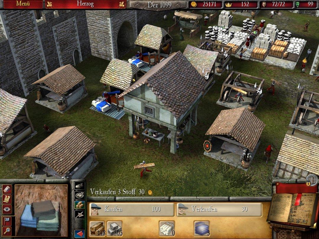 stronghold 2 im test gamestar. Black Bedroom Furniture Sets. Home Design Ideas