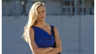 <b>Battleship</b><br>Schauspielerin Brooklyn Decker in ihrer Rolle als Hoppers Love Interest Sam.