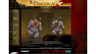 Dragon Age Journeys - Browserspiel Special