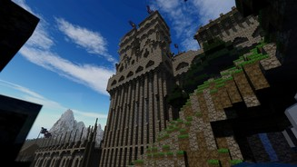 <b>Minecraft</b><br>Screenshots vom Minecraft-Großprojekt »Kingdom of Galekin«