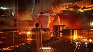 <b>Star Wars: Battlefront 2</b><br>Zwar soll die Missionsanweisung in diesem Fall lustig wirken, in der Praxis machen wir aber wirklich nicht viel mehr als schießen und ab und zu einen Knopf drücken.